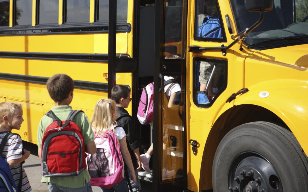 Vigilante de Transporte Coletivo de Crianças