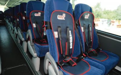 Kidy Bus é o único sistema de retenção infantil para autocarros homologado