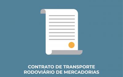 Regime Jurídico do Contrato de Transporte Rodoviário Nacional de Mercadorias